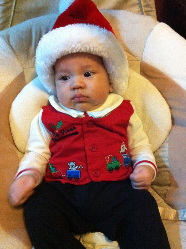 Baby Santa Jackson 2011