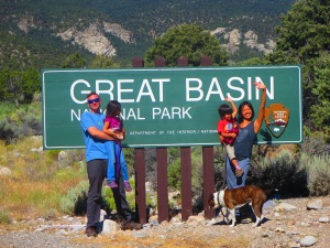 We have this thing with taking photos with National Park signs.
